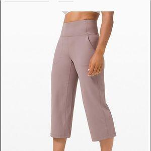 Nwt lululemon Align Wide Leg Crop